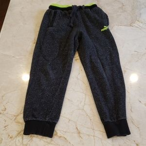 Like new condition.  Boys Puma Joggers